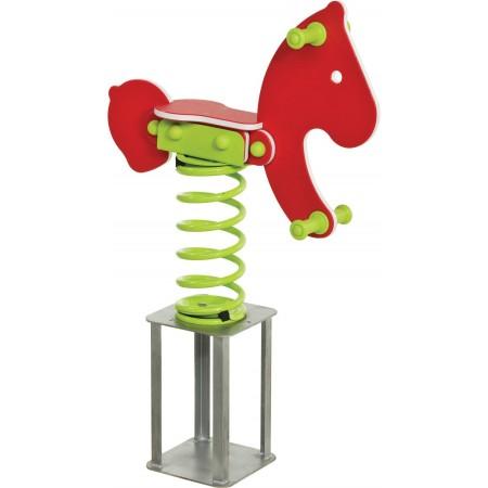 Balansoar pe arcuri HDPE ponei cu prindere in beton