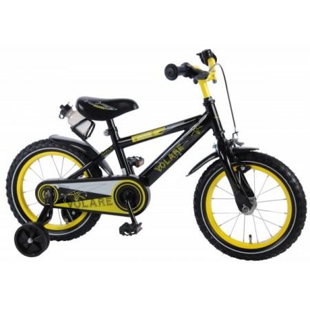 Bicicleta Volare pentru baieti 14 inch cu roti ajutatoare Freedom