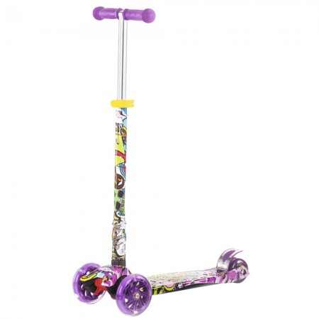 Trotineta Chipolino Croxer Evo purple grafitti
